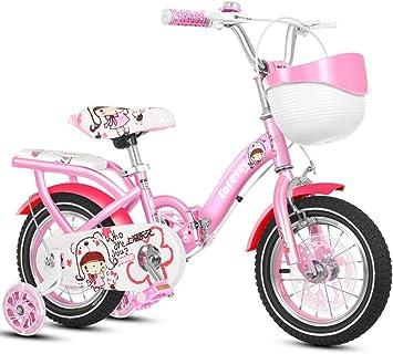 Bicicletas de equilibrio, Bicicleta para niños Niña Rosa Cochecito ...