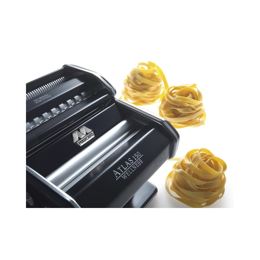 Marcato Atlas Pasta Machine, Made in Italy, Light Blue, Includes Pasta Cutter, Hand Crank, and Instructions by Marcato (Image #6)