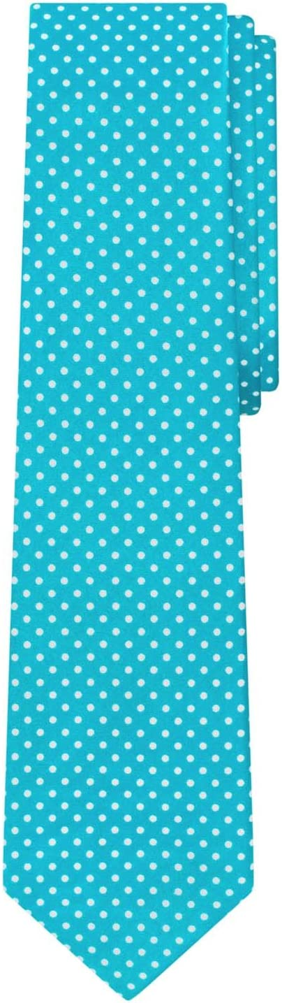 Baby Blue Jacob Alexander Polka Dot Print Boys Regular Polka Dotted Tie