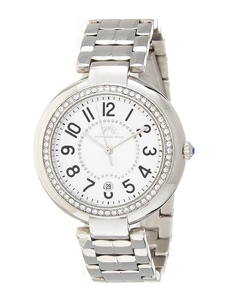 porsamo Bleu Sofia Plata Tono Acero Inoxidable Ladies Reloj 951 ASOS