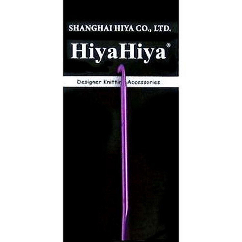 Hiyahiya - Crochet de aluminio de 15 cm de 6,5 mm