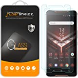 (2 Pack) Supershieldz for Asus Rog Phone Tempered Glass Screen Protector, Anti Scratch, Bubble Free