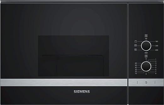 Siemens - Horno microondas con grill BE520LMR0 acabado cristal ...