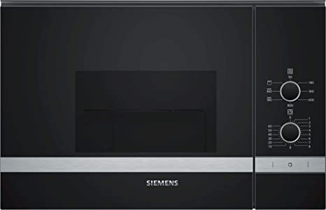 Siemens - Horno a microondas con grill be520lmr0 acabado cristal ...