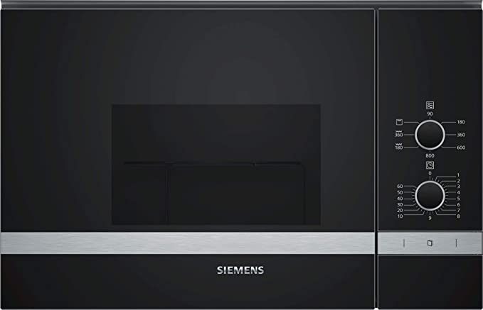 Siemens – Horno a microondas con grill be520lmr0 acabado cristal ...