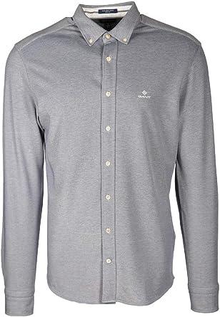 GANT Shirt Tech Prep Regular Fit Pique Weave Long Sleeve ...