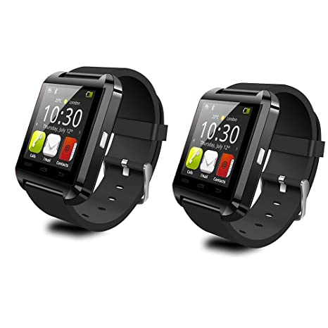 Amazon.com: LeexGroup® 2PCS U8 Bluetooth Smart Watch Phone ...