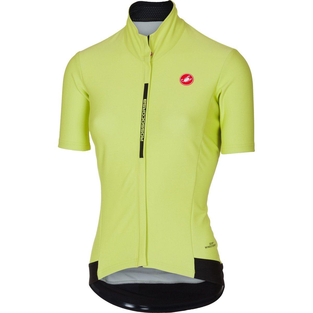 Castelli 2017レディースGabba 2半袖サイクリングジャケット – b17086 B075ZMBTD1 Small|sunny lime sunny lime Small