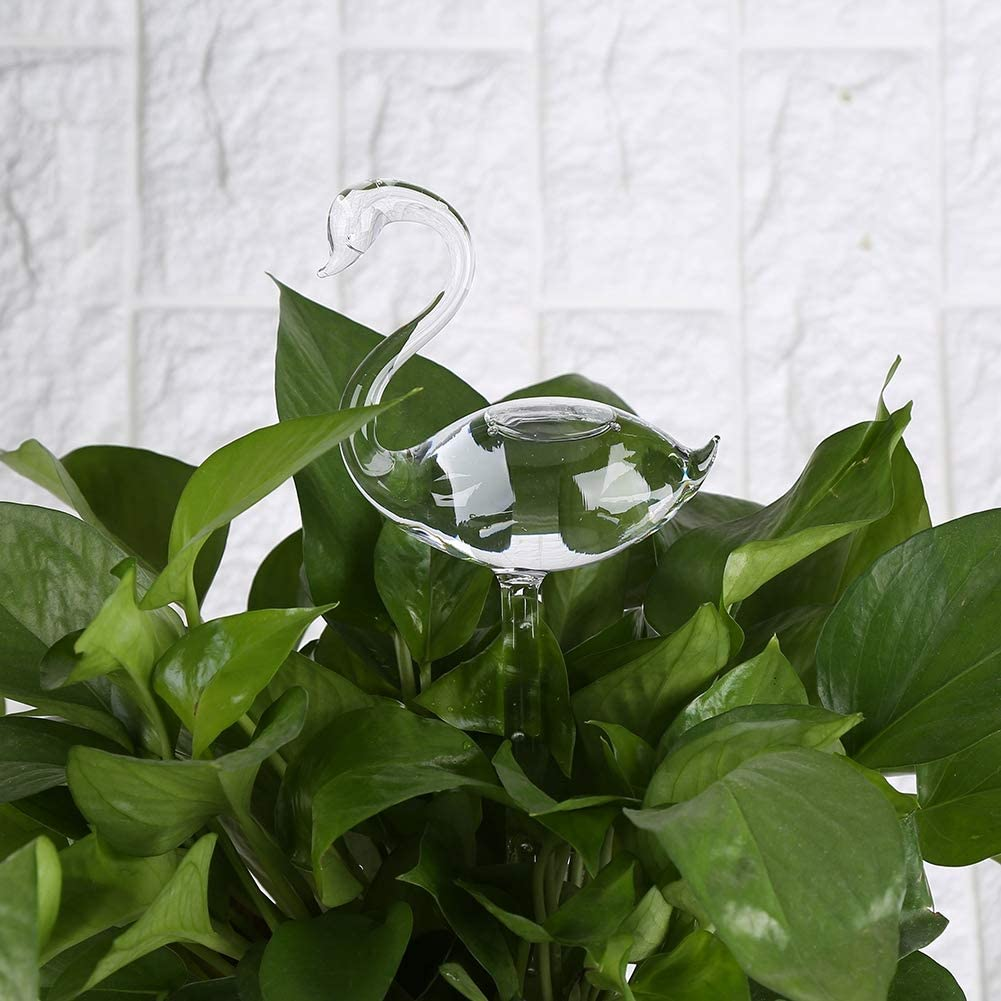 1x Round Watering Self Automatic  3pcs Pot Houseplant House Plant Waterer Device