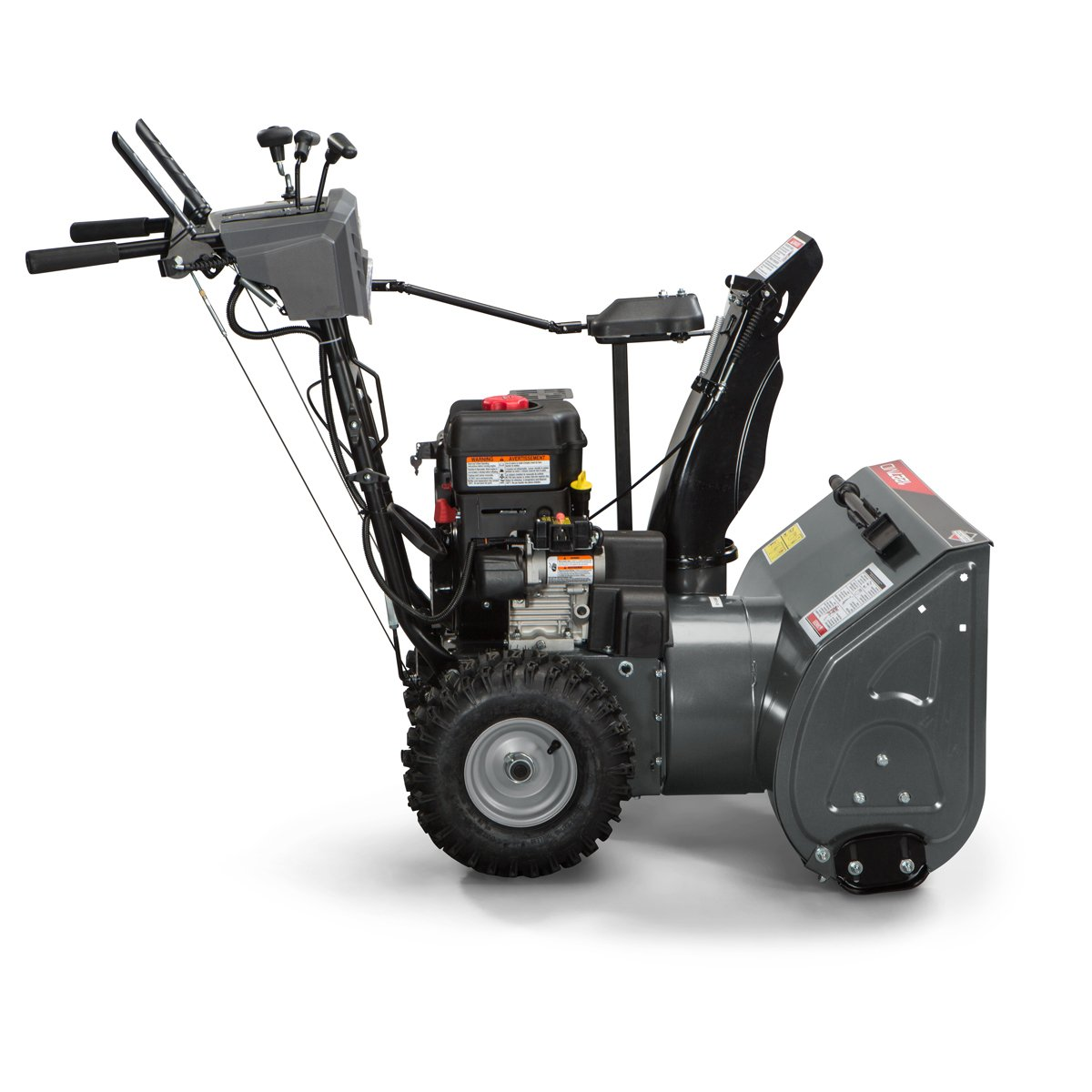 briggs and stratton single stage snow blower reviews