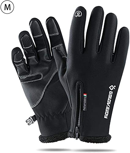 Winter Warm Windproof Waterproof Anti-slip Thermal Touch Screen Bike Gloves Mens