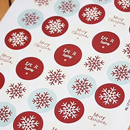 East of india sticker sheet round christmas 40