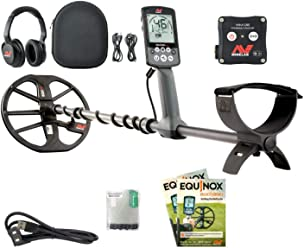 Minelab EQUINOX 800 Multi-IQ Metal Detector with EQX 11