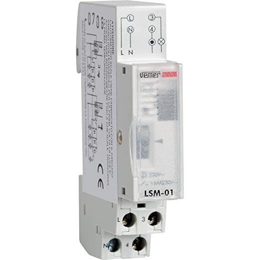 4 opinioni per Vemer VE073300 Interruttore LSM-01 Temporizzatore Luci Scale Elettromeccanico da