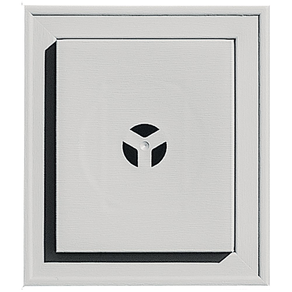 Builders Edge 130110002030 Squared Mounting Block 030, Paintable The TAPCO Group - DROPSHIP