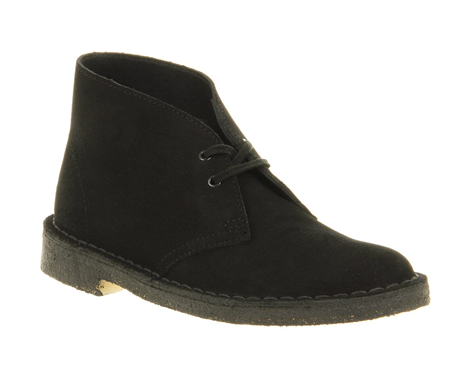 e27c82d3af6a4 Clarks Originals Desert Boot Black Suede - 8 UK  Amazon.co.uk  Shoes   Bags