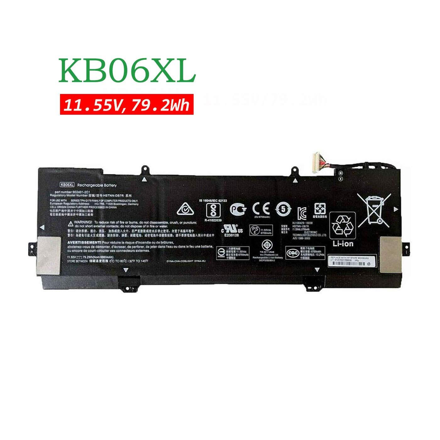 Bateria Hp KB06XL 11.55V 79.2Wh 6860mAh X360 15-BL002XX Z6K9