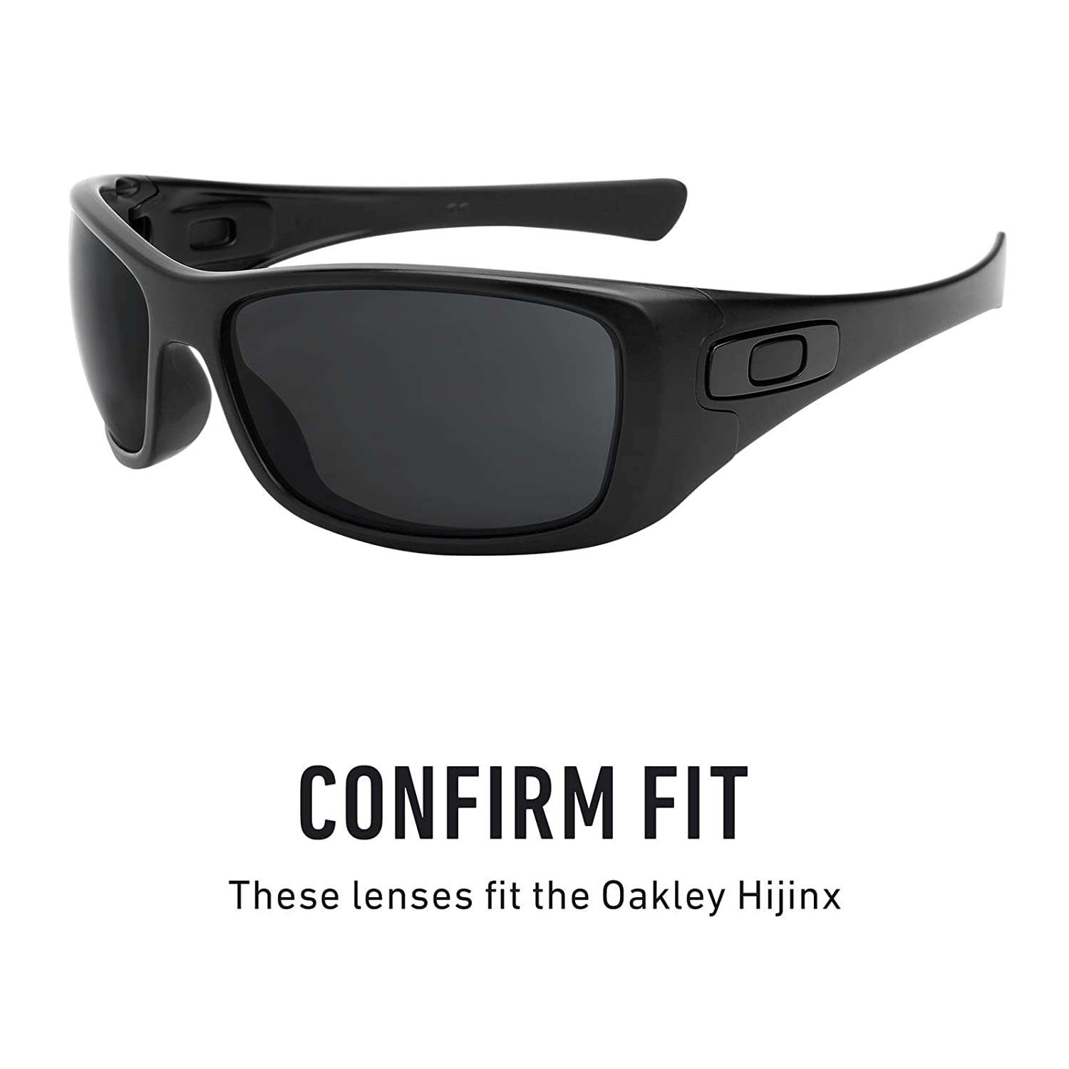 c842fc15e29f6 Revant Replacement Lenses for Oakley Hijinx Black Chrome MirrorShield®   Amazon.ca  Sports   Outdoors