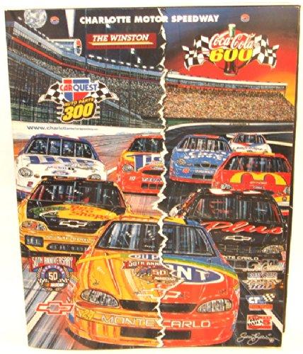 otor Speedway Program Magazine Coca-Cola 600 Car Race Book (Coca Cola Magazine)