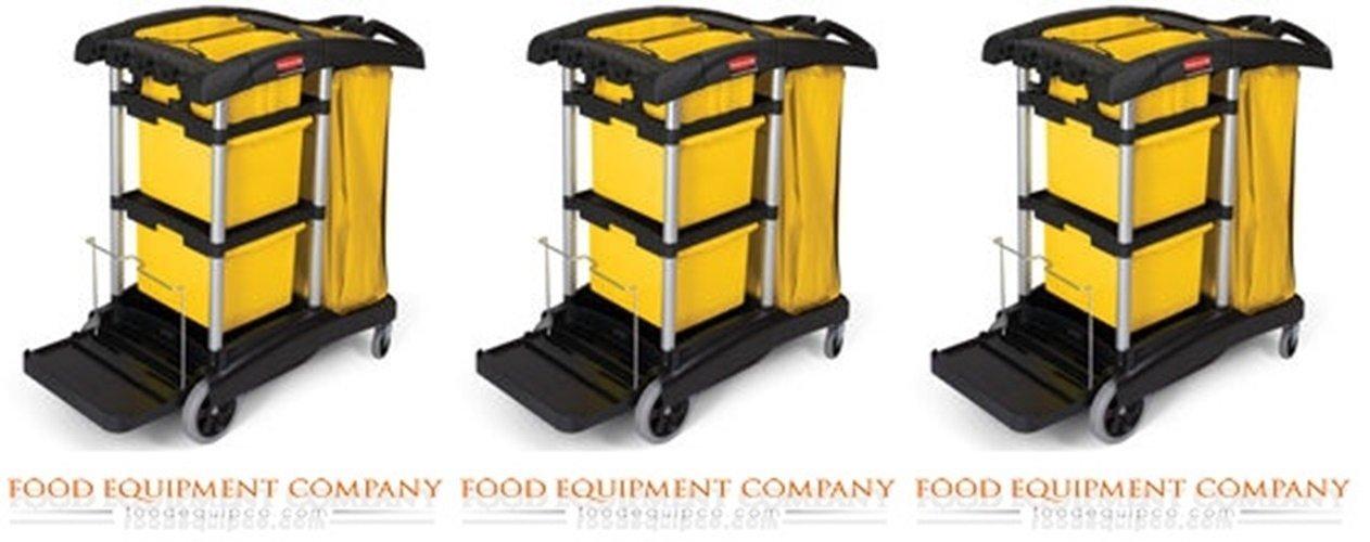 Rubbermaid Commercial Productos fg9t73010000 Lock N Go Kit, carro de limpieza Accesorios, Negro: Amazon.es: Bricolaje y herramientas