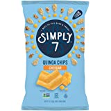 Simply7 Gluten Free Quinoa Chips, Cheddar, 3.5 Ounce (Pack of 12)