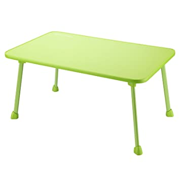 Large Bed Tray NNEWVANTE Laptop Desk Lap Desk Foldable Portable Standing  Outdoor Camping Table, Breakfast