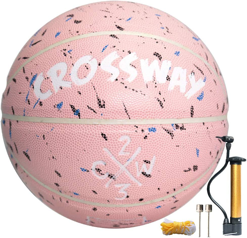 28.5 Junior Kid Women,Youth 29.5 Composite PU Basketballs for Men MAIBOLE Street College Basketball Size 5-6-7 Indoor Ourdoor Basketball 27.5
