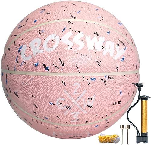 MAIBOLE Street College Basketball Size 5-6-7 Indoor Ourdoor Basketball 27.5 , 28.5 , 29.5 Composite PU Basketballs for Men, Women,Youth, Kid, Junior