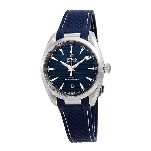 Omega Seamaster Aqua Terra - Reloj automático para Hombre, Esfera Azul, 220.12.38.20.03.001: Amazon.es: Relojes