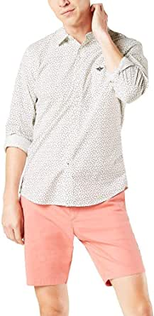 Dockers Supreme Flex Camisa de manga larga con botones para ...