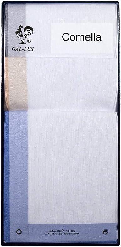 Gal-lus C-466C/33 algodón, Blanco Con Satenes De Color, Tamaño ...