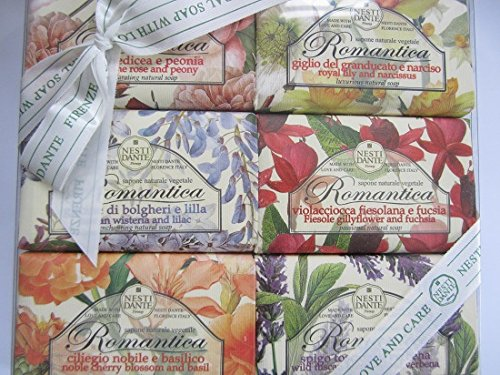 Romantica Floral 6 Soap Gift Set
