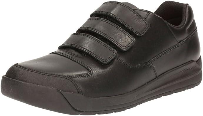 Clarks Boys Hook /& Loop Fastening School Shoes Leader Pass