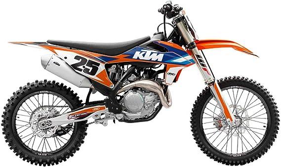 AHL Cuivre fritt/é Motocyclette Plaquettes de Frein Arri/ère pour KTM EXC 125//EXC 250 1995-2003