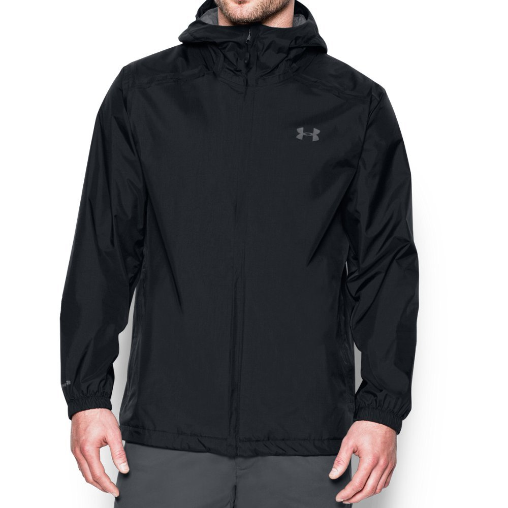 Under Armour Men's Storm Bora Jacket, Black/Graphite, Large