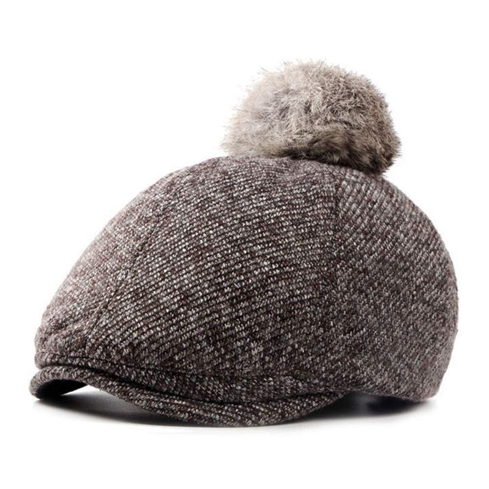 Women Beanie Hat Winter Pompom Caps Berets Warm Thicken Knitted Hat
