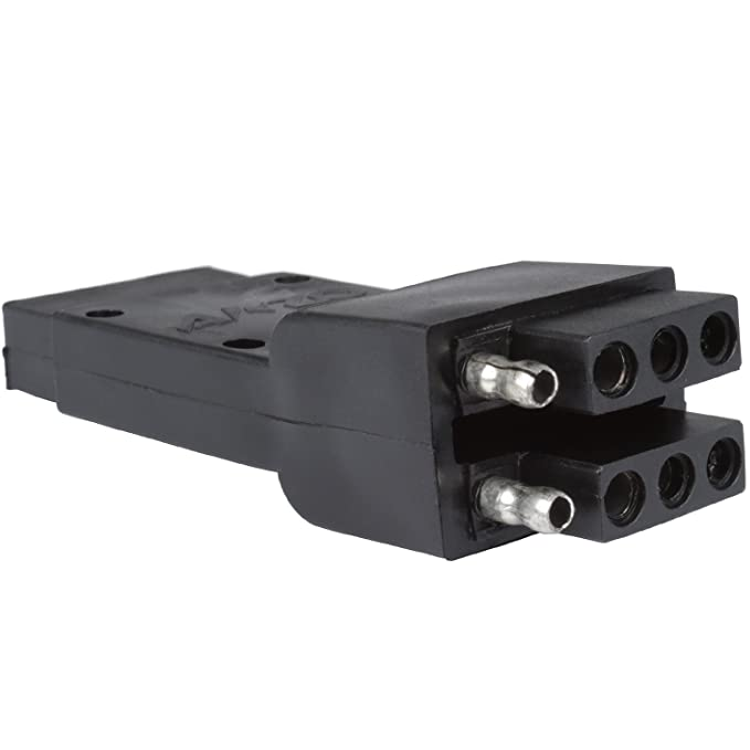 AnzoUSA 851009 Dual 4-Wire Flat Adapter on