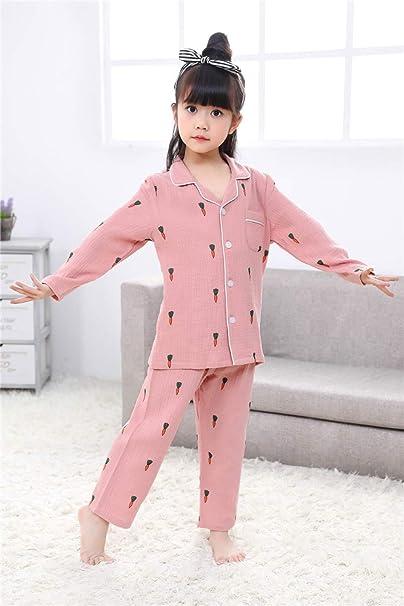 137b68c51c7 Pijamas De Manga Larga Pantalones De Dormir para Niños Servicio Doméstico  De Primavera Y Otoño Traje