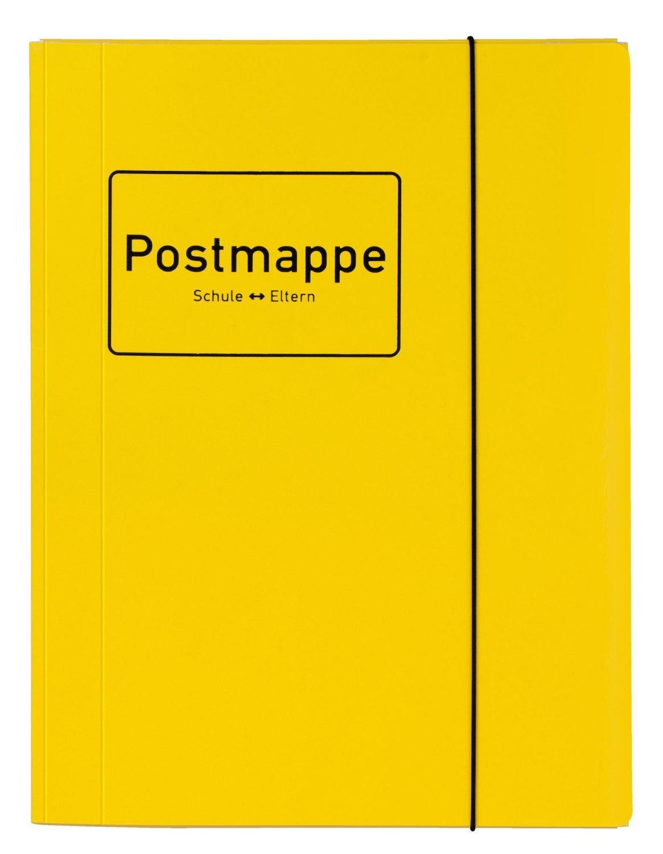 Sammelmappe Eckspannermappe DIN A4 Eltern Karton gelb Veloflex 4442318 Postmappe Velocolor Schule