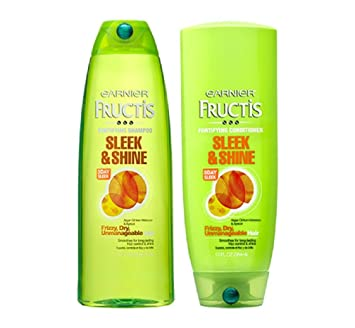Image result for garnier fructis shampoo and conditioner image