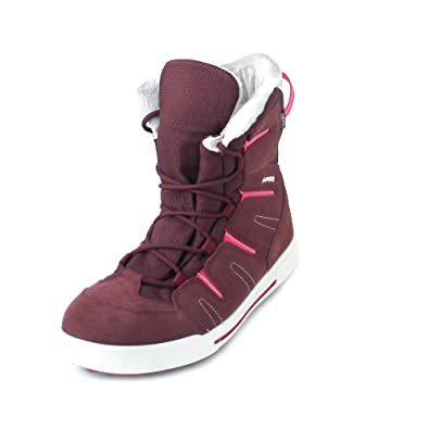 echte Schuhe 2019 professionell Turnschuhe 2018 Lowa Girls' Hiking Shoes red bordeaux/beere: Amazon.co.uk ...