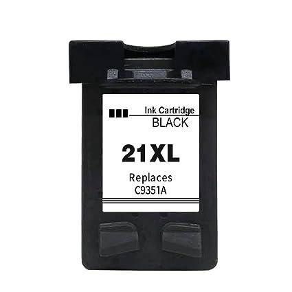 Ksera Reconstruido HP 21XL HP 21 Negro Cartucho de Tinta de Alto ...