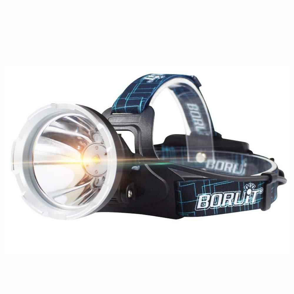 KLSHW USB Charging Headlights Long-Range Outdoor Head-Mounted Flashlight Waterproof Fishing Headlights