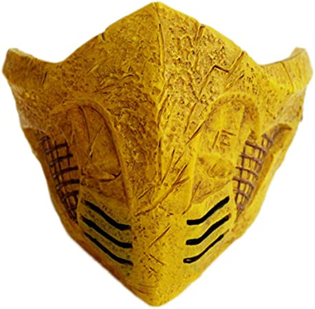 mortal kombat scorpion covid 19 mask