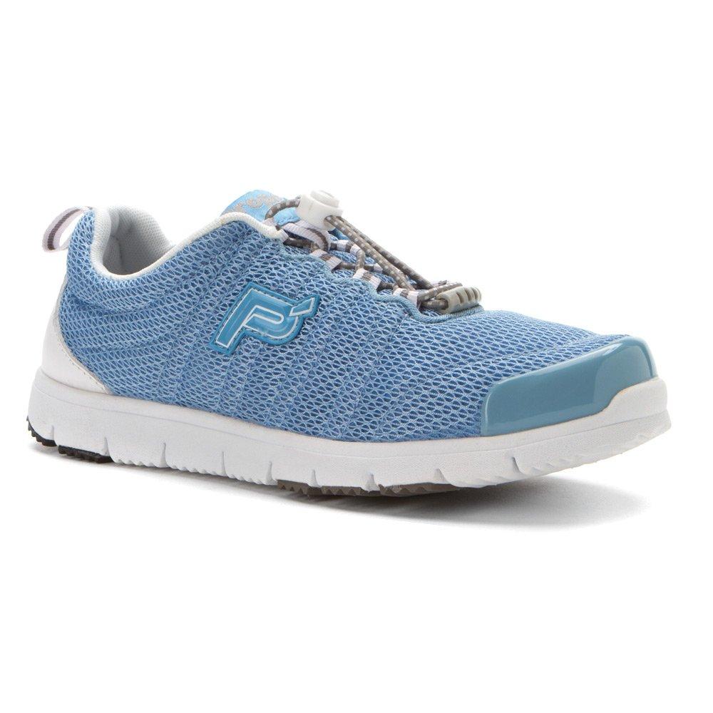 Propet Women's Travelwalker II Shoe B005M97L56 6.5 N US|Light Blue Mesh