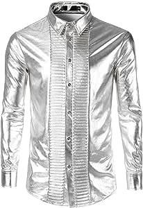 Gyubay Camisa de Manga Larga para Hombre 1 Invierno ...