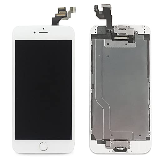 48 opinioni per LL Trader Screen Replacement for iPhone 6 (4.7 inch) White LCD Touch Digitizer