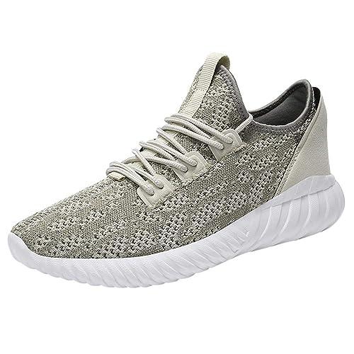 76aced694b948 Logobeing Calzado Deportivo Hombre Running Zapatillas Deporte Hombres  Zapatos Hombre Deportivos Casuales Zapatillas de Running  Amazon.es  Zapatos  y ...