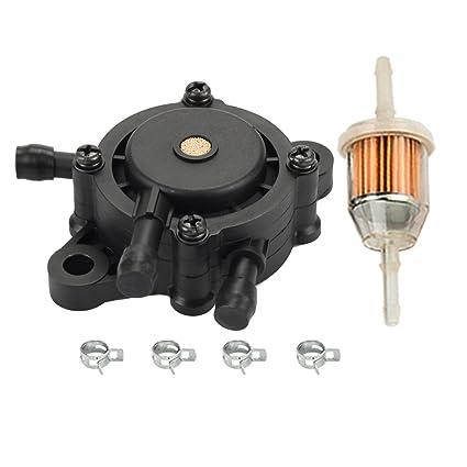 Amazon com : HIPA Fuel Pump + Fuel Filter for John Deere