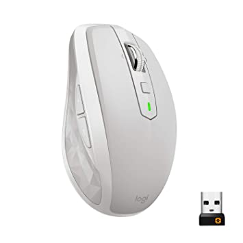 310bc989f56 Logitech MX Anywhere 2S Wireless Mouse/Bluetooth Mouse for Mac and Windows  - Light Grey